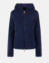 Women's Fleece Hooded Jacket in BEAR