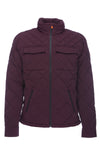 Men's Stretch Quilted Jacket in Dahlia Purple