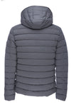 Men's Stretch Puffer Jacket in Opal Grey
