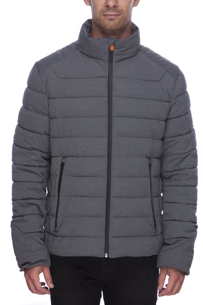 Men's Stretch Jacket in Opal Grey Melange