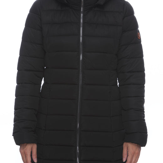 Women's Stretch Coat in Black
