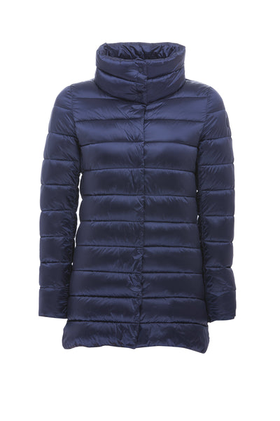 Women's Iridescent Coat in Navy Blue