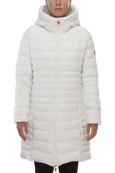 Women's Coat in Off White