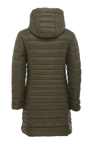 Women's Coat in Dusty Olive