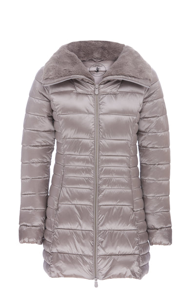 Women's Coat in Opal Grey