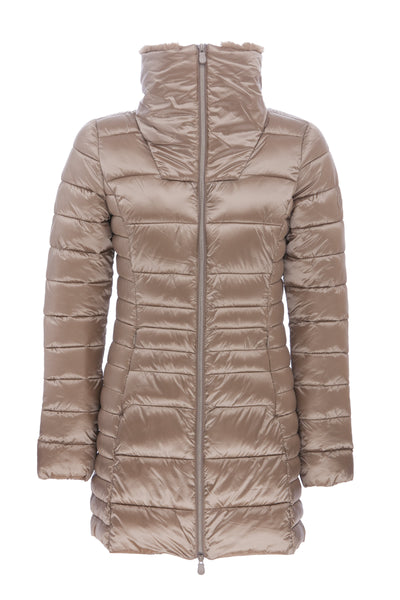 Women's Coat in Macaroon Beige