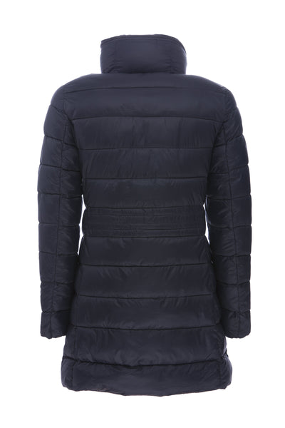Women's Coat in Blue Black