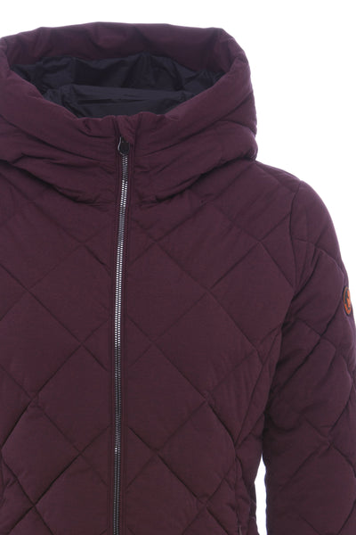 Women's Stretch Coat in Dahlia Purple Melange