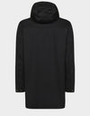 Mens BARK Hooded Coat in Black