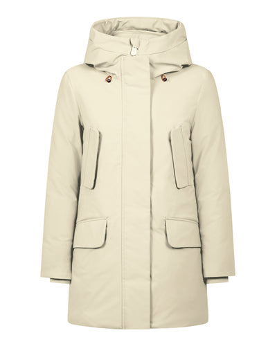 Save The Duck Women's SMEG Winter Classic Hooded Parka