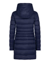 Save The Duck Women's GIGA Hooded Coat with Faux Lambskin Lining