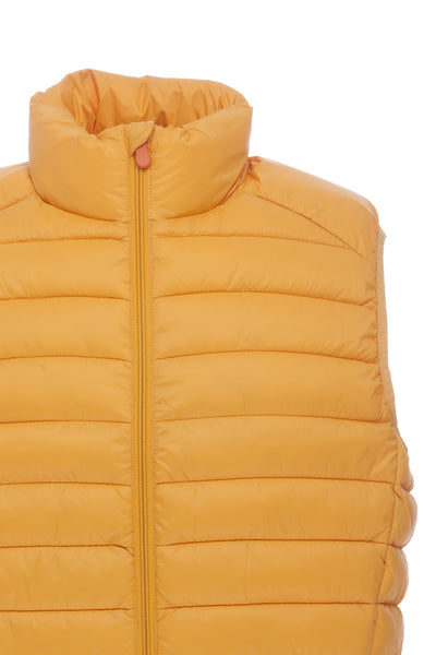 Men's Vest in Curry Yellow