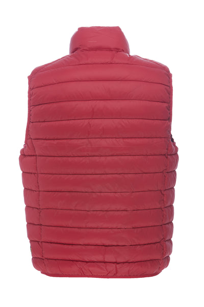 Men's Vest in Passion Red