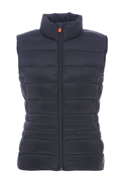 Women's Vest in Blue Black