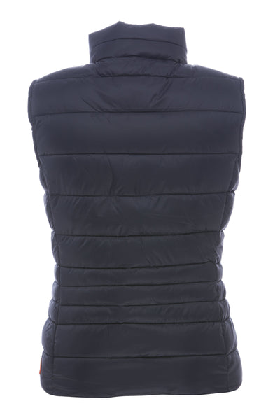 Womens Vest in Blue Black