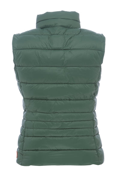 Women's Vest in Jungle Green