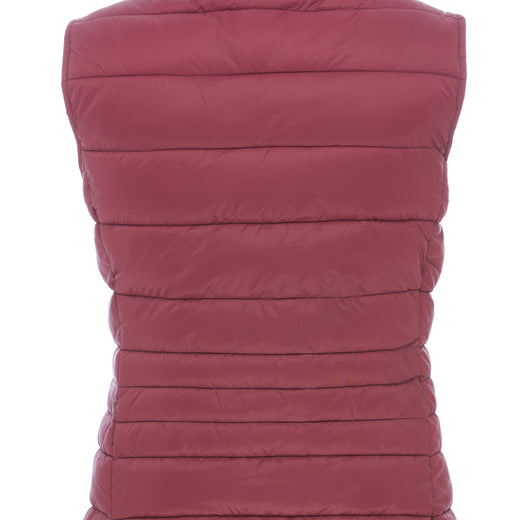 Women's Vest in Burgundy