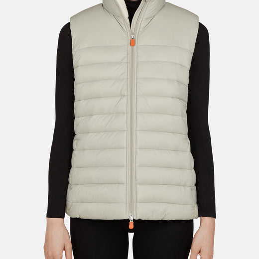Womens Vest in GIGA Faux Sheepskin