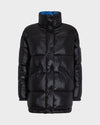Women's Disney Quilted Jacket in Black