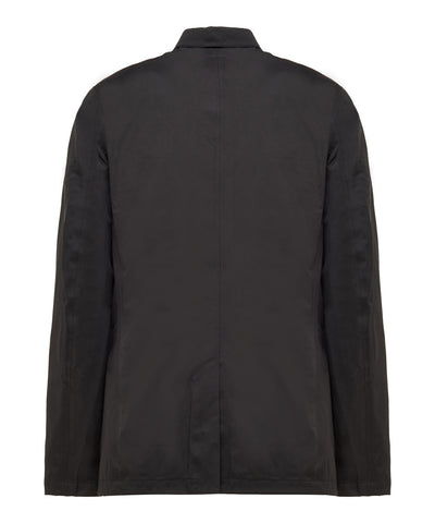 Men's Water-Repellent Jacket with padded lining in Black