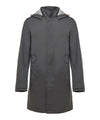 Mens Raincoat in Charcoal Grey