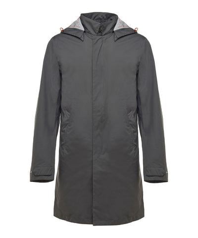 Men's Raincoat in Charcoal Grey