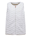 Women's FURY Reversible Faux Fur Sleeveless Jacket in Snow White