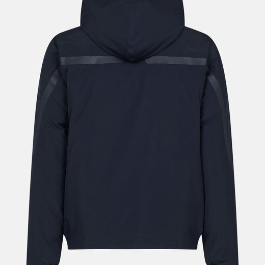 Mens Removable Hooded Jacket in EVER