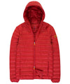 Lightweight Men's Hooded Jacket in Red