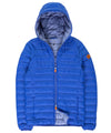 Lightweight Men's  Hooded Jacket in Royal Blue