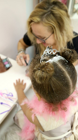 Nail Salon for Little Girls at Pin Ups Spa and Boutique