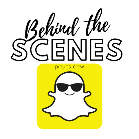 Behind the scenes with Pin-Ups Spa and Boutique on Snapchat at pinups_crew