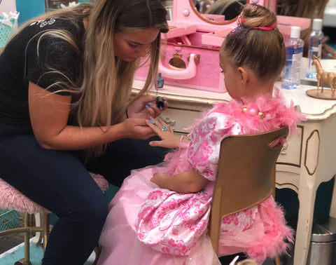 Princess for a Day at Pin Ups Spa and Boutique