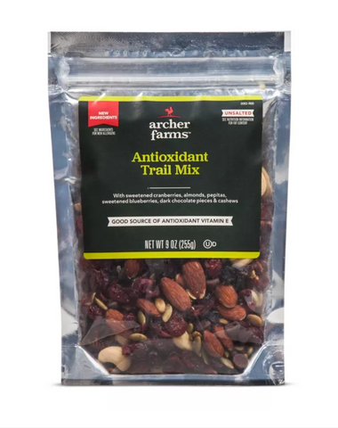 Antioxidant Trail Mix from Target for Skin Loving and Taste Craving Needs