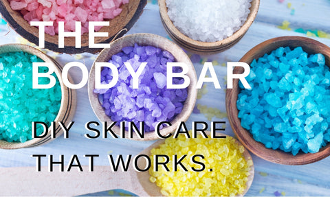 The Body Bar: DIY Skin Care That Works. At Pin-Up Spa and Boutique in Biloxi, MS