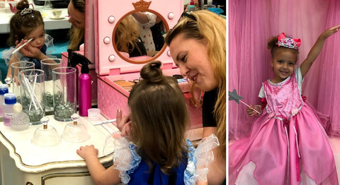 Makeup Hair Nails and Beauty Services for Kids at Pin Up Spa Boutique Biloxi