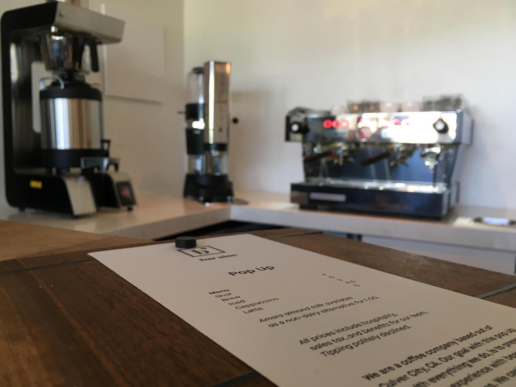 How LA's Bar Nine is Applying a Japanese Manufacturing Concept to Coffee Retail