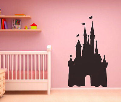 Princess Castle Peel and Stick Chalkboard Wall Decal Film - Repositionable