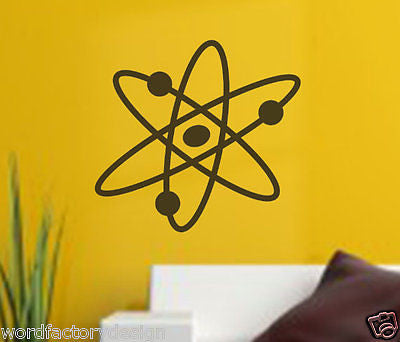 The Big Bang Theory Atom Bomb Science Inspired decal