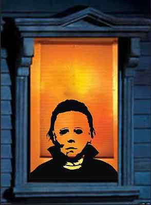 Michael Myers Horrifying Wall Decal Decor Scary Ideas