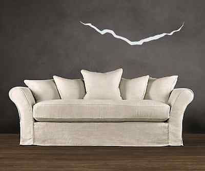 "Vinyl Wall decal DIY ""Crack In The Universe"" For Your Own Doctor Who Wall"