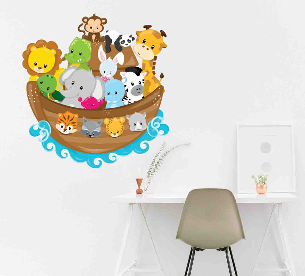 Noah's Ark - Prettygrafik Licensed Collection Removable Wall Decals