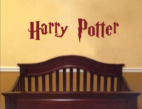 ... Harry Potter Wall Decal With Customized Name Vinyl Wall Lettering  Personalized ...