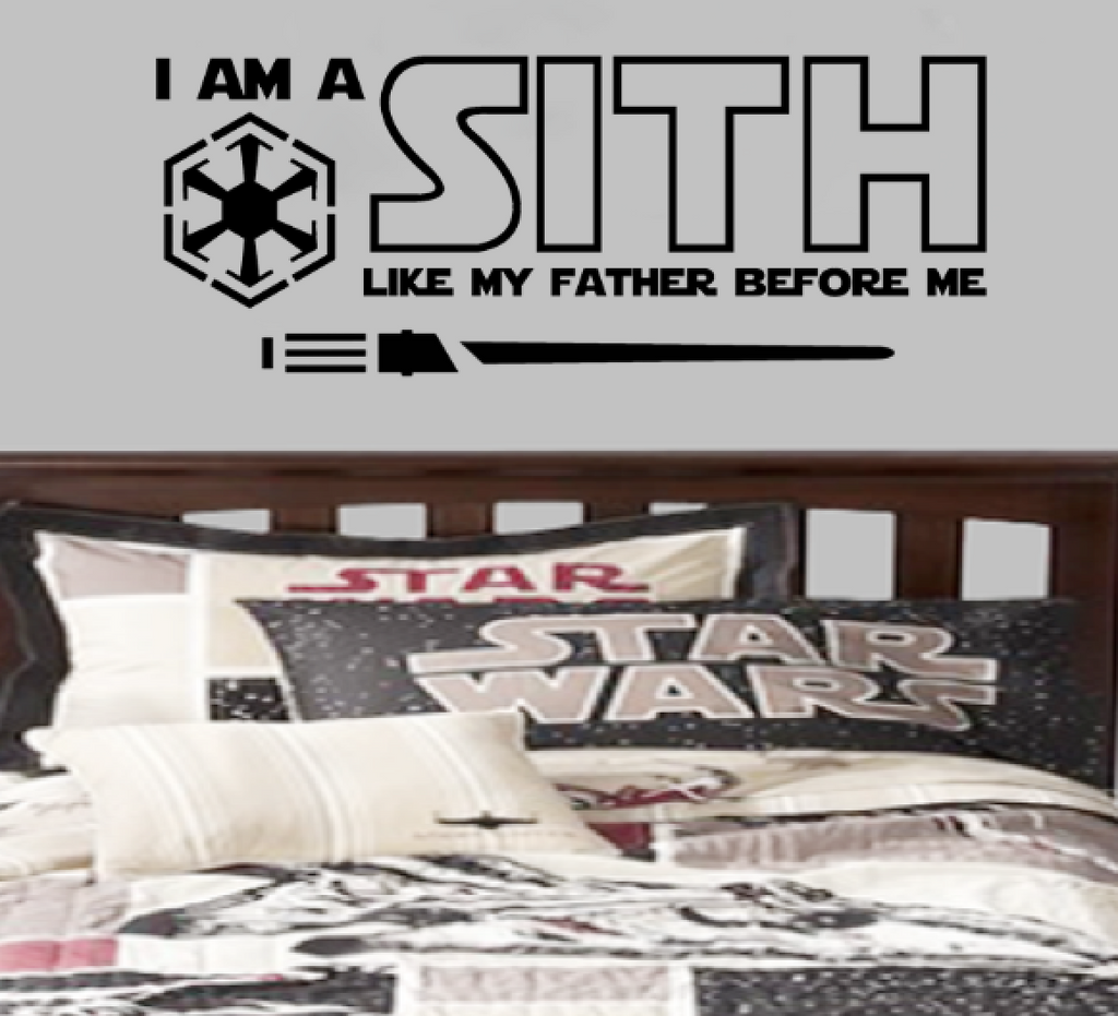 I am A Sith like my father before me Dark Side of the Star Wars Jedi Parody