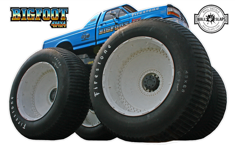 BigFoot 4x4 Monster Truck Wall Decal - 12 inches tall #T1
