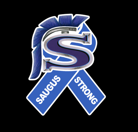 Saugus Strong Car Decal or Sticker #saugusstrong