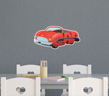 PBS Kids WordWorld Car Wall Decal, Removable, Repositionable, & Educational
