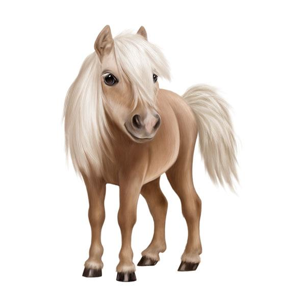 "Horse 12"" Wall Slaps Decal"