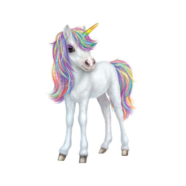 "Unicorn 12"" Wall Slaps Decal"