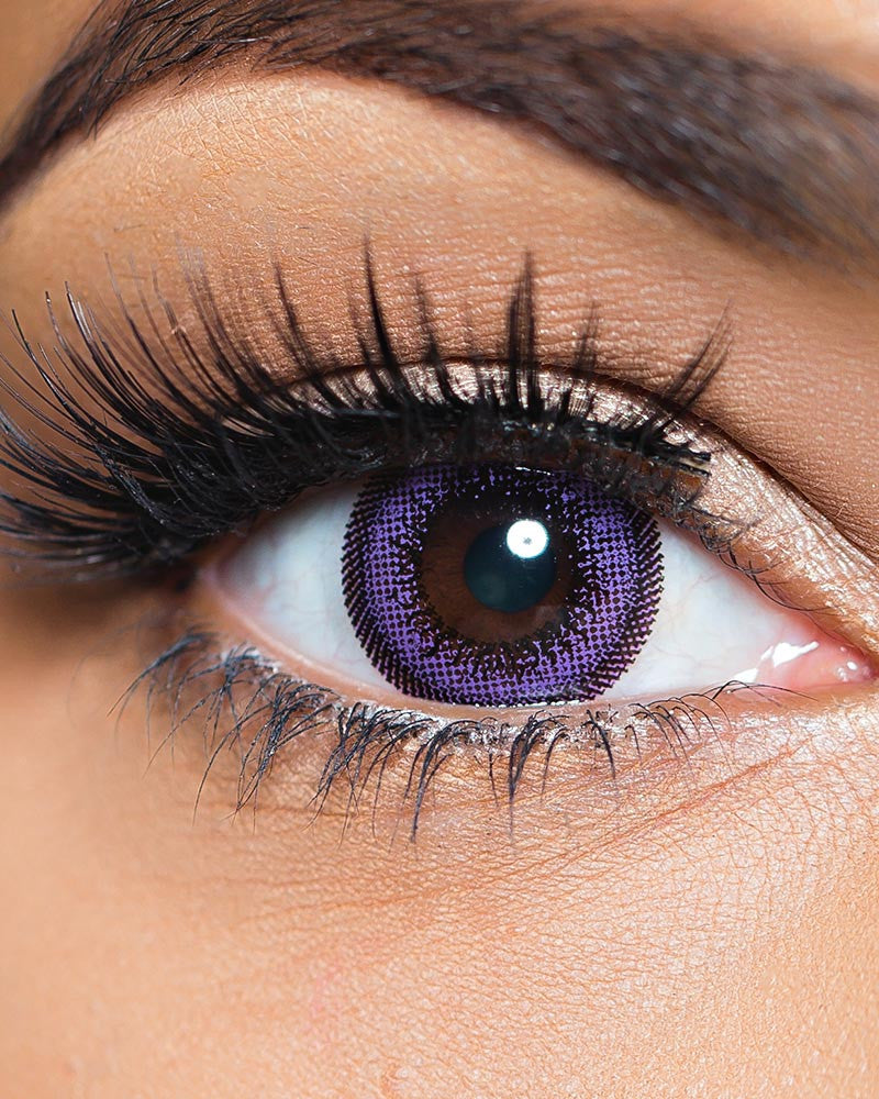 Violet - Purple Colored Contact Lenses